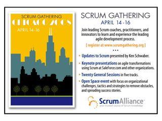 Scrum Gathering Chicago 2008