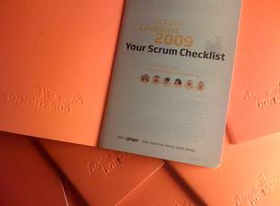 Scrum Checklist 2009